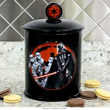Funky Kitchen Canisters Star Wars Darth Vader Dark Side Ceramic Cookie Jar Novelty