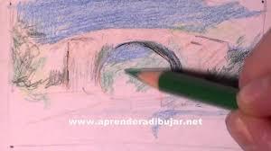 dessin de paysage avec des crayons de couleur comment dessiner