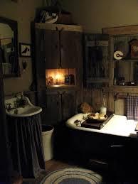 fanciful primitive country bathroom decor ideas Primitive bathroom
