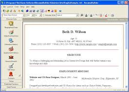 Free Professional Resume Maker Free Professional Resume Builder Resume Template And