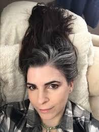 grey streaks in hair how to flaunt gray hair like a celebrity gray streaks gray hair