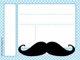 invitaciones fiesta mostacho bigotes pinterest baby shower boys