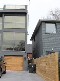 contemporary design for modern garage doors with mirror panels and