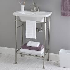 kingston brass console sink console bathroom sink awesome edgemere legs american standard in 10