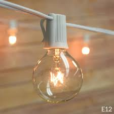 mainstays 20 count frosted glass globe string lights walmart