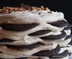 magnolia icebox cake chocolate nutella toffee icebox cake a family feast