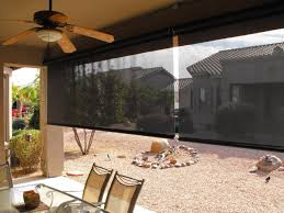 Patio Umbrella Fan by Patio Ideas Roll Up Patio Blind Coloured Black Also Green Grass