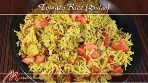 Manjula Kitchen Tomato Rice Pulao Recipe By Manjula Youtube