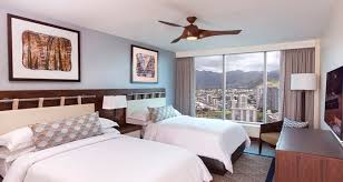 Guest Bedroom Bed - honolulu hotel the grand islander by hilton grand vacations waikiki