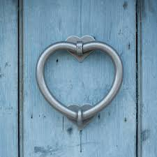 Great Knockers Heart Door Knocker Made By Jim Lawrence What To Do In Suffolk