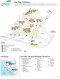 San Diego City College Campus Map by Mira Costa College Maplets
