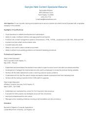 Resume Applications Personnel Security Specialist Resume Sample Resume For Your Job