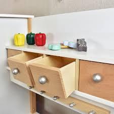 sun kinderküche sun 04139 kinderküche mit tafel aus holz mit kühl gefrierkombination