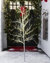 indoor outdoor led winter birch tree balsam hill