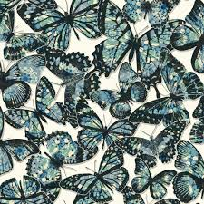Monarch Design by York Wallcoverings Urban Chic Jeweled Monarch Wallpaper Rk4441