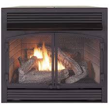 dual fuel fireplace insert zero clearance 32 000 btu procom