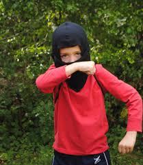 sewing pattern ninja costume diy ninja mask beatnik kids