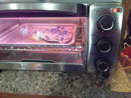 Reheating Pizza In Toaster Oven Natural Convection Toaster Oven Black Decker
