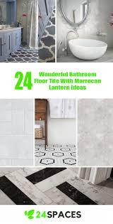 white bathroom floor tile ideas 24 wonderful bathroom floor tile with morrocan lantern ideas 24