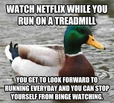Treadmill Meme - livememe com actual advice mallard
