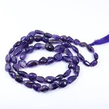 purple crystal stone necklace images Reiki crystal products amethyst stone necklace price in india jpeg