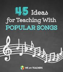 Seeking Intro Song 25 Pop Songs To Use With Students These Are Great Whether You Are