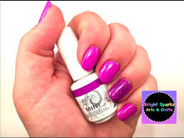 nail art stamp on gel nails how to diy art craft fun youtube
