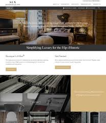 slx hospitality branding and web development the lab creative
