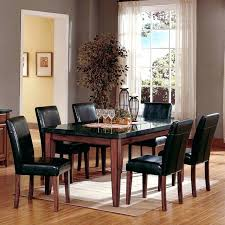 High Dining Room Table Set by Black Granite Dining Table Set U2013 Rhawker Design