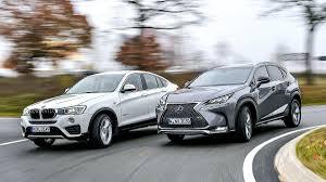 comprar coche lexus en valencia comparativa lexus nx 300h f sport contra el bmw x4 20d