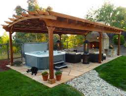 Backyard Design Program by Pergola Amazing Gazebo Blueprints Outdoor Patio Wooden Brown
