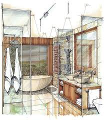 Interior Sketch by 75 Best Croquis Images On Pinterest Sketch Interior