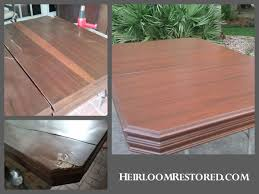 how to refinish veneer table repairing furniture antiques in new orleans mandeville covington