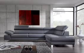 canapé d angle en cuir gris canape en cuir d angle nouveau s canapé d angle cuir gris anthracite
