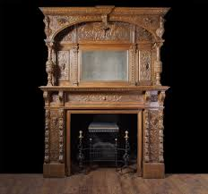 bring art into your living room by installing an antique fireplace