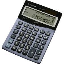 le de bureau à pile calculatrice de bureau olympia lcd 4312 bleu à pile s sur le site