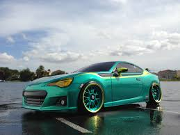 subaru hatchback custom subaru brz oak man designs