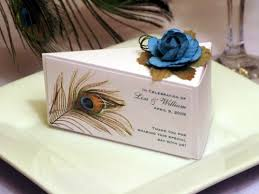 peacock wedding favors wedding cake box favors wedding definition ideas