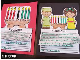 kwanzaa writing craft activity and other fun christmas around the