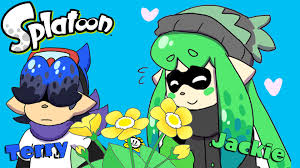 comicdub splatoon terry and jackie flowers to friends youtube
