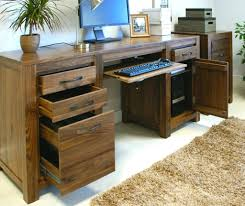 Wood Desks Home Office Home Office Furniture Solid Wood Home Interior Decorating Ideas