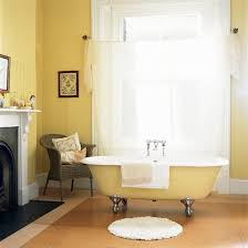 bright and sunny yellow ideas for perfect bathroom decoration
