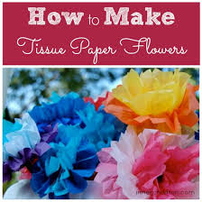 tissue paper flowers printable instructions how to make tissue paper flowers inner child fun