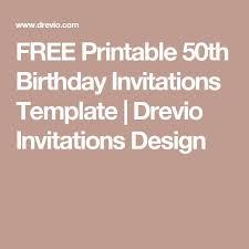 mer enn 25 bra ideer om 50th birthday invitations på pinterest