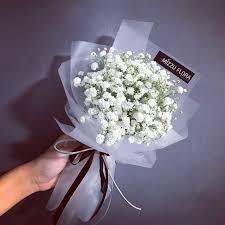 baby breath flowers korean style baby s breath flower bouquet women s fashion
