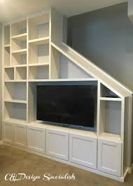 Built In Wall Shelves by Custom Entertainment Centers Designed Built Installed C U0026 L