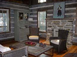 home interior framed breathtaking log home interior wall colors using grey paint