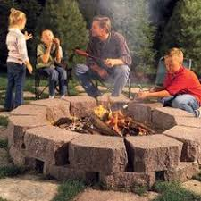 How To Make A Fire Pit With Bricks - in ground fire pit with gravel brick patios pinterest brick