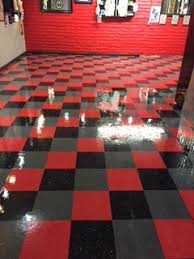 commercial vinyl tile floor cleaning sealing waxing vct