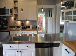 Kitchen Steel Cabinets Kitchen Stainless Steel Cabinets With Aluminum Kitchen For Small